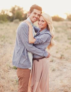 Inspired by this End of Summer Ice Cream Engagement Session | Inspired by This Blog