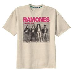 Retro Ramones Punk Rock US Band T-Shirt Tee Organic Cotton Vintage Loo ❤ liked on Polyvore featuring tops, t-shirts, distressed vintage tee, punk rock t shirts, vintage punk t shirts, pink t shirt and vintage tees