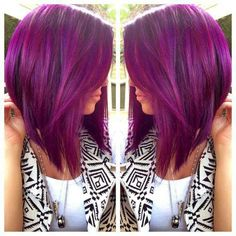 Short & purple! <3 I want!