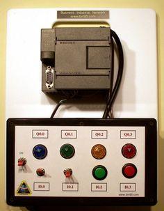 Siemens PLC - S7-200 PLC Trainer CLICK PIC for details