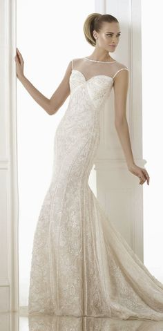 Pronovias Fashion 2015 Bridal Collections  | bellethemagazine.com