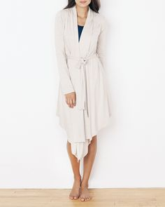 now heres a robe I would wear- it's the perfect combination of cardigan and robe