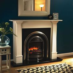 New Free Electric Fireplace with shelves Thoughts Excellent Pics Electric Firep. New Free Electric Fireplace with shelves Thoughts Excellent Pics Electric Fireplace with shelves Tips Power fir Log Burner Fireplace, Fireplace Art, Simple Fireplace, Candles In Fireplace, Fireplace Shelves, Shiplap Fireplace, Black Fireplace, Fireplace Remodel, Fireplace Inserts