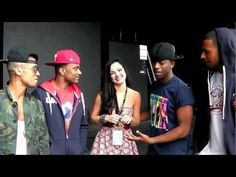 Tich on Tour with JLS-Tour Video Diary