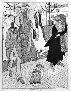 Lyonel Feininger, Strassentypen II