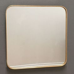 Buy Large Square Gold Frame Modern Mirror x online now, with Free UK Delivery Large Gold Mirror, Gold Framed Mirror, Plasterboard Wall, Small Lounge, Living Room Mirrors, Modern Glass, Venetian Mirrors, Frames On Wall, Free Uk