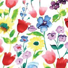 Flowers Spring Fabric @Keepsake Quilting