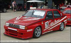 Silverstone Classic 2013 - Alfa Romeo 75