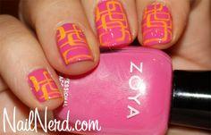 Zoya Jolene - Stamped and lovely!