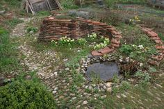 Wolfram Franke – Kräuter - All For Garden Veg Garden, Edible Garden, Water Garden, Garden Paths, Herb Spiral, Strawberry Garden, Raised Planter, Stone Path, Different Plants