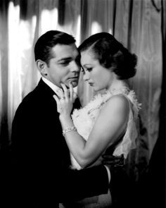 Joan Crawford and Clark Gable...hot real life romance.