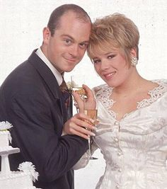 East Enders Grant Mitchell and Sharon Watts marry in 1991 - The Independent
