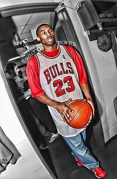 Kobe wearing his Jordan jersey 90ee08510