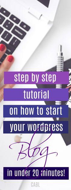 7 Steps to Start Your Money Making Blog in Minutes#startablog #blogging #chasingabetterlife