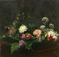 Flowers - Henri Fantin-Latour