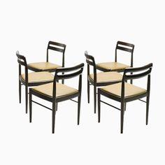 Kueche Sets Esszimmerstuehle Esszimmer Hocker Stuehle Mid Century Teak Chairs