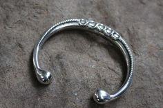 Rings Torc Bangle in Pewter. Bangles, Bracelets, Pewter, Vikings, Celtic, Earrings, Silver, Jewelry, Tin Metal