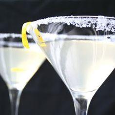 Ginger Lemon Martini
