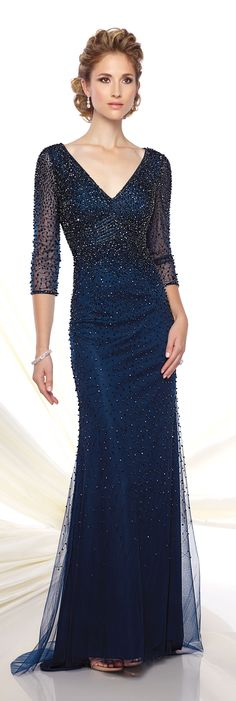 Formal Evening Gowns by Mon Cheri - Spring 2016 - Style No. 116D27 #eveninggowns