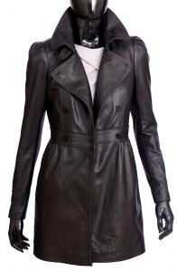 Płaszcz skórzany damski DORJAN ELZ450