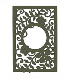 Make wonderful paper craftwork using Spellbinders Cut  and amp; Emboss Die. The collection features die templates in adorable shapes and designs to embellish your craft and paper projects. These dies