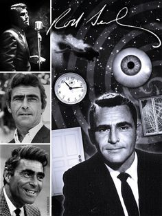 """Rodman E. """"Rod"""" Serling (Dec. 25, 1924 – June 28, 1975) was an American screenwriter, playwright, TV producer, & narrator best known for his live TV dramas of the 1950s & his sci-fi anthology TV series, The Twilight Zone. Serling was active in politics, both on and off the screen, and helped form television industry standards. He was known as the """"angry young man"""" of Hollywood, clashing with television executives and sponsors over a wide range of issues including censorship, racism, and war."""