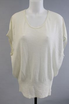 OMG new Monika Chiang white cream sweater for $59 was $399 wow