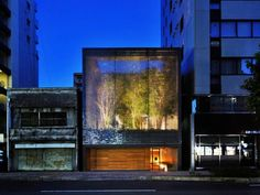 Optical Glass House made from glass bricks: beautiful! Hiroshi Nakamura & NAP, Japan, Kengo Kuma
