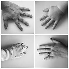 mains de famille