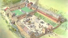 Discover the history of the National Trust's Chedworth Roman Villa, near Cheltenham, Gloucestershire. Imperial Legion, Roman Britain, Old Mansions, Roman History, Ancient Rome, Ancient History, Modern House Plans, Black Sea, Roman Empire