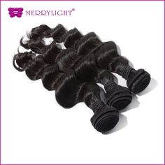88.10$  Buy here  - Malaysian Virgin Loose Wave  8~28inchs  3 pcs/lot Virgin Hair extensions Nature Black Color for sale Free Shipping