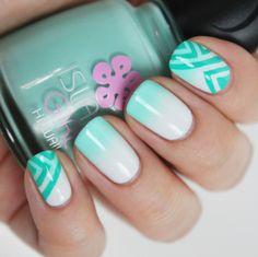 cool Стильный дизайн ногтей омбре (50 фото) — Новинки и цвета 2016 Читай больше http://avrorra.com/dizajn-nogtej-ombre-foto-novinki/