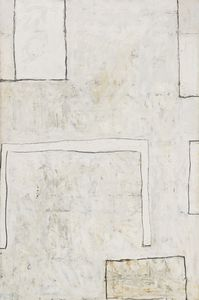 Artwork of the Month - May 2015, William Scott, May 1st 1961, 1961, Oil on canvas, 182.9 x 121.9 cm / 72 x 48 in, Museum of Fine Arts, Houston, Texas