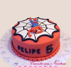 Torta Hombre Araña Spiderman Cake