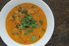 Red Lentil & Swiss Chard Soup