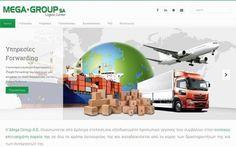 Κατασκευή εταιρικής ιστοσελίδας για την εταιρεία logistics Mega Group SA στον Ασπρόπυργο Αττικής. Παρουσίαση υπηρεσιών, κατασκευή newsletter, προώθηση SEO.