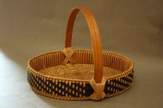 Appalachian Herb Basket - Learn from Anne Bowers at the 2014 Stowe Basketry Festival!