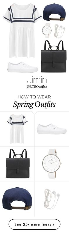 """""""Spring Outfit Inspired by Jimin"""" by btsoutfits on Polyvore featuring Chicnova Fashion, O'Neill, Danielle Foster, Vans, Skagen, women's clothing, women, female, woman and misses #fashion #fashionfemale #fashionusa #fashionwomen"""