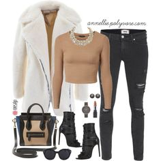 A fashion look from February 2015 featuring Paige Denim jeans, Alaïa ankle booties and Skagen watches. Browse and shop related looks.