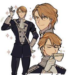 Favorite Character, Ferdinand, Emblems, Character Design, Fire Emblem, Animation Art, Art, Anime, Fan Art