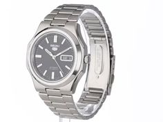 Seiko Men's SNKK47 Seiko 5 Automatic Black Dial Stainless Steel Bracelet Watch | Citizen Watches For You And Her