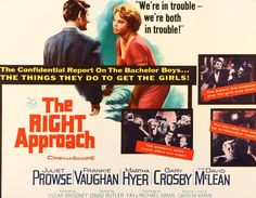 The Right Approach (1961) Original Half-Sheet Movie Poster