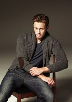 True Blood Diaries: Alexander Skarsgard -who doesn't love this show!!!
