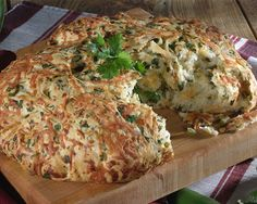 Celebrate Cinco De Mayo with this cheesy Chopped Jalapeno Bread fresh from your oven.