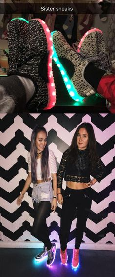 Are you and your best friend RAVE fans? Do you like to dance and go to different fun events? You might like these shoes. FREE US SHIPPING with fast delivery, you buy 2 and get the 3rd one for FREE! Tens of styles with great high quality. Take a look!