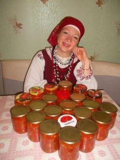 """Результат моего труда - салат """"Греческий"""" ( заготовка на зиму). Две порции."""
