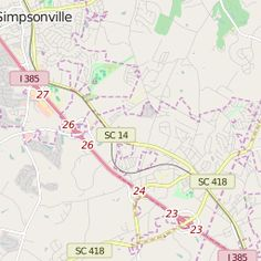 Swamp Rabbit Trail Map - Greenville SC
