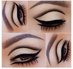 Mod eye make-up