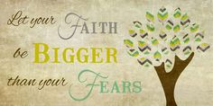Bigger Than Your Fears Chevron  by Summer Snow 13x22