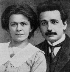 1900 - After working hard in the laboratory but skipping lectures, Albert Einstein graduated with an unexceptional record. For two grim years he could find only odd jobs, but he finally got a post as a patent examiner. He married a former classmate.
